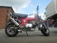 Shineray 125 monkey bike