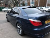 Bmw 5 series with comfort access and body kit.