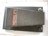 Morley PWV Pro Series Wah Volume stompbox/pedal/effects unit for electric guitar -USA