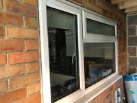 UPVC Window with clear glass size 1760cm x 102cm