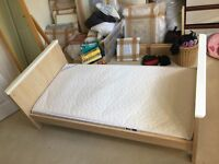 Mammas & Pappas Murano Cot Bed - excellent condition