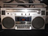 vintage toshiba RT-120S stereo boombox