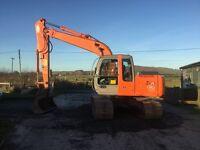Hitachi Zaxis 130 lcn excavator digger tractor