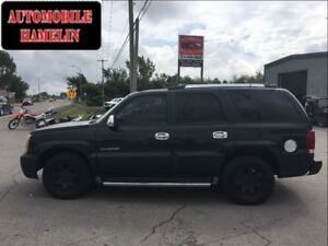 2002 Cadillac Escalade luxury 7 places cuir toit mags