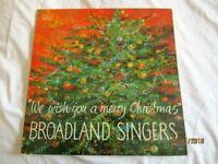 """BROADLAND SINGERS NORWICH 12"""" VINYL LP LOCAL INTEREST RECORDED IN THE MARBLE HALLNORWICH 1985"""