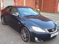 "LEXUS IS 220D 2.2 SE-L TOP OF RANGE,HPI CLEAR,2 OWNER,FULL MAIN DEALER SERVIC,LEATHER SEAT,17"" ALLOY"