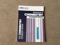 National 5 Chemistry Student Book - Brand New