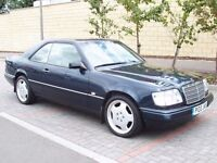 1996 Mercedes E220 2.2 Coupe - Timeless Classic - FSH - Leather interior