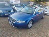 2002 Audi A4 SE CABRIOLET Great for summer