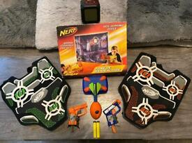 Nerf Vests, Whistler & Spy/Aiming hole + more