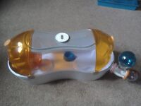Habitrail Ovo loft hamster cage with wheel, house,water bottle and food bowl