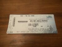 Red Hot Chili Peppers - SSE Hydro Glasgow - Thursday 8th December - 1x Standing Ticket