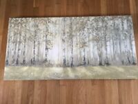 Laura Ashley woodland sunrise print canvas