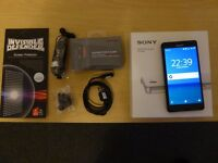 SONY Z3 Compact - 16GB Black and Unlocked.