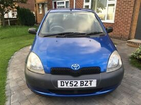 11 2002 TOYOTA YARIS COLOUR COLLECTION