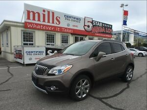 2014 Buick Encore AWD 1.4L Turbo FULLY LOADED TECH Navigation Sy