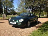 Classic MGF 1.8 SPORTS CONVERTIBLE, 49000 MILES 2000 excellent Ltd Edition Interior trim example