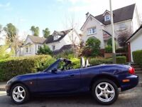 ⭐SUMMER BARGAIN⭐ (2005) MAZDA MX-5 1.8i CONVERTIBLE ONLY 60K MILES/FSH+INVOICES+TIMING BELT REPLACED