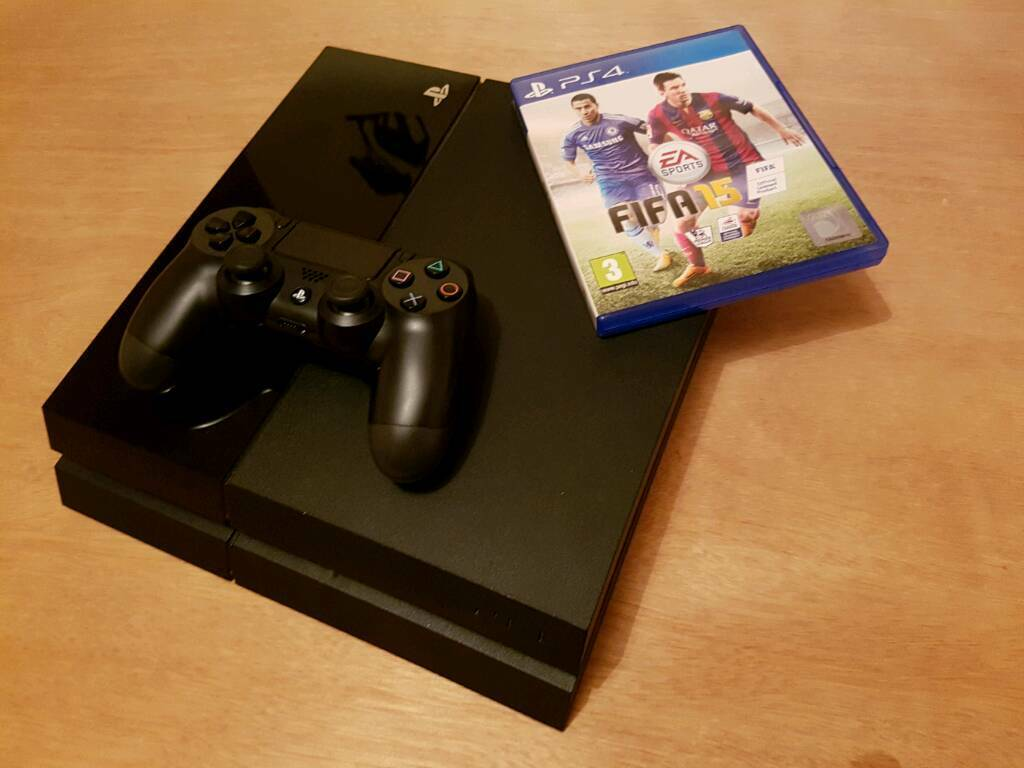PS4 with Fifa 15