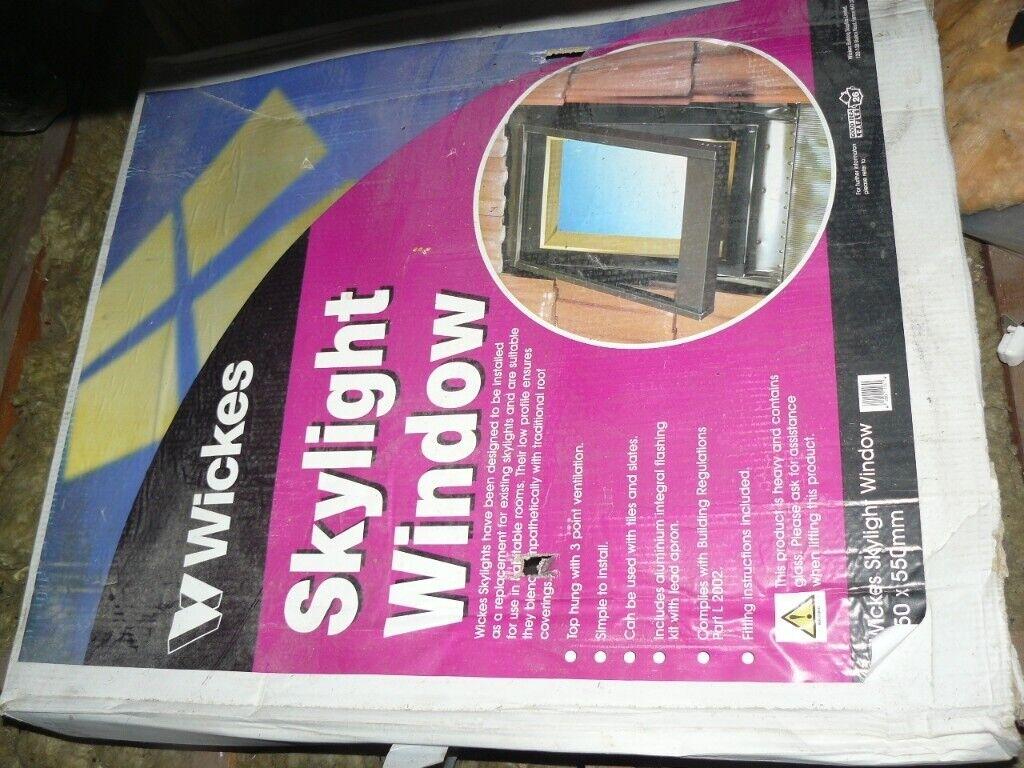 Wickes Skylight Velux Type Opening Roof Window 450 X 550 Mm Unused Boxed In Ramsgate Kent Gumtree