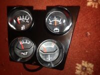 Ford cortina mk3 GT/GXL (rare) consol clocks!