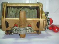 Old vintage tattler game sea multiplying reel model 5