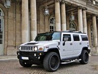 White Hummer H2 Hire