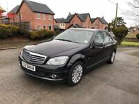 2008 Mercedes-Benz C220 Elegance CDI, One Owner From New, Great Spec, Long MOT £2995