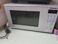 Panasonic microwave with manual