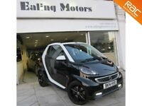 2014 SMART FORTWO GRANDSTYLE TURBO 84BHP,CONVERTIBLE,AUTO,PETROL,PAS,SATNAV,LEATHER,BLUETOOTH,AC,CD