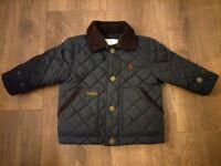 Ralph Lauren - Blue Quilted Jacket - 6 months