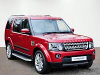 Land Rover Discovery SDV6 HSE (red) 2015-01-10
