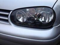 Volkswagen Golf MK4 Anniversary Headlights Genuine OEM plus spare one 3 lights