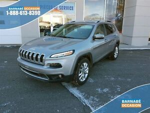 2016 Jeep Cherokee LIMITED - V6 - 4X4 - SIEGES VENTILE ET CHAUFF