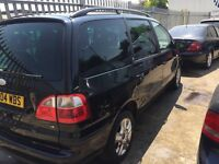 Ford Galaxy Ghia 24v 04 Reg 7 seater very good for family wit 1 yr Mot
