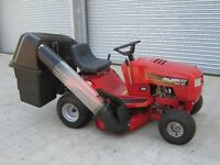 "MURRAY125/96 RIDE ON TRACTOR MOWER 38"" CUT."