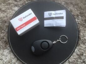 Personal Alarm Keyring with Torch, Police Initiative