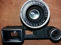 Leica Leitz Wetzlar Summicron 1:2 /35 with Goggles M3 version