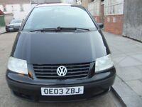 Volkswagen Sharan Diesel Automatic 2003
