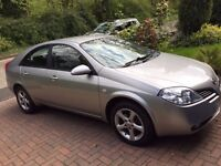 NISSAN PRIMERA 2006 Petrol Car, 1 previous owner, Full Service History, selling as bought a 7 seater