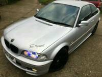 Bmw 325i m sport 118k fsh coupe manual px or swap welcome