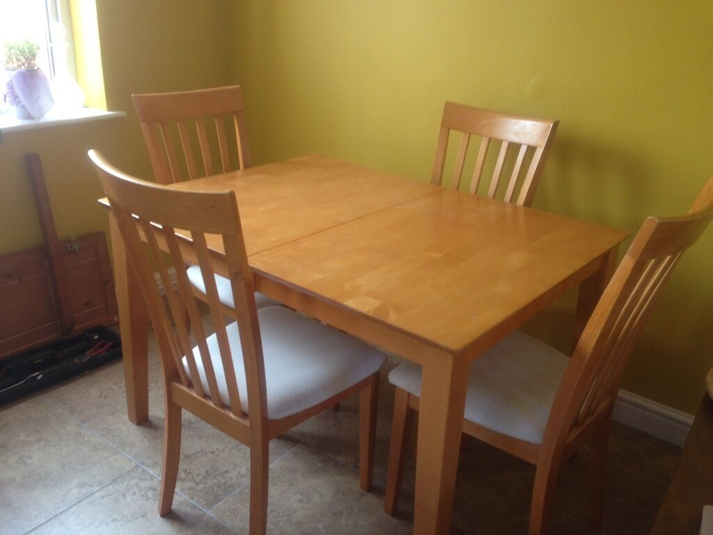 Dining Table And Chairs In Selby North Yorkshire Gumtree