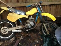 Old rm250 with old ktm 125cc