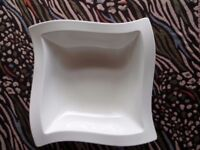 Villeroy & Boch New Wave premium porcelain salad bowl