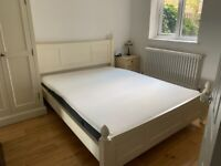 Second hand bedroom furniture - includes Norwegian king size bed frame