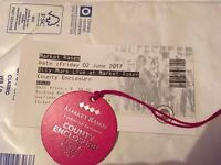3 Tickets to see Olly Murs Live at Market Rasen Racecourse