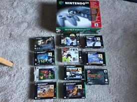 N64 Nintendo 64 Boxed Console And Games