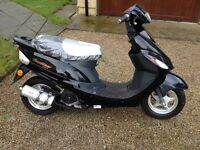 Baotion Scooter BT50 QT-9 (07 Reg)with Zero Mileage on the clock