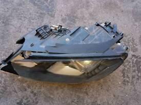 Vw tourareg headlamp spares only 10 plate onwards o/s