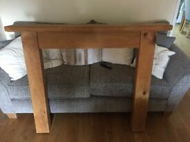 Pine fire surround, about 5 years old, good condition